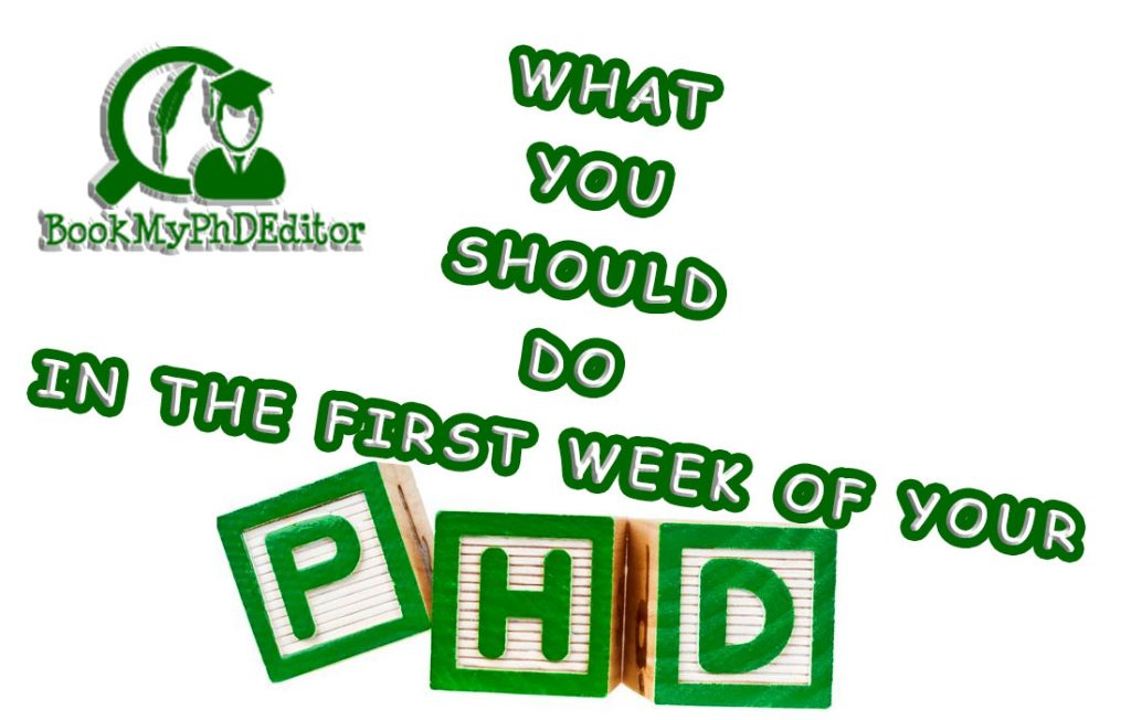 What-you-should-in-the-first-week-of-your-phd-BookMyPhDEditor